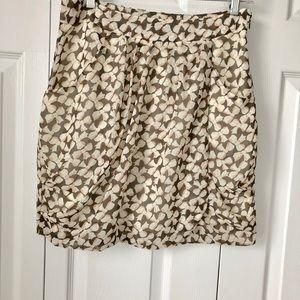 Banana Republic Tulip Hem Pattern Skirt, 8